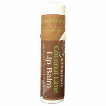 Soothing Touch Lip Balm Coconut Lime, .25 OZ (Pack of 6)