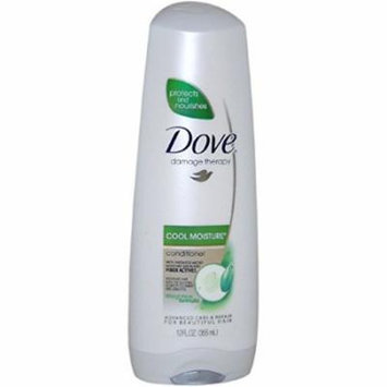 2 Pack - Dove Damage Therapy Cool Moisture Conditioner, 12oz Each