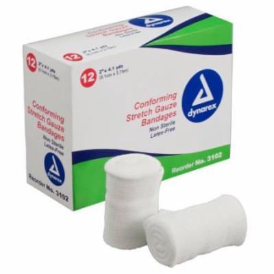 Dynarex Conforming Stretch Gauge Bandages 2