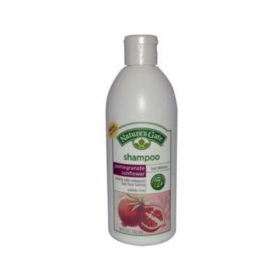 Natures Gate 0267484 Shampoo Pomegranate Sunflower, 18 fl oz