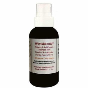 Watts Beauty Advanced Anti Wrinkle Vitamin C Serum for Skin, 2 oz
