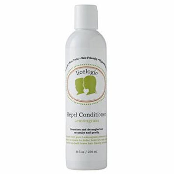 LiceLogic Natural Enzyme Based Lice Repel Conditioner, 8 oz Lemongrass