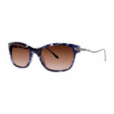 VERA WANG Sunglasses SEBILLE Purple Tortoise 52MM