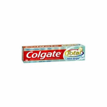 2 Pack - Colgate Total Fresh Mint Stripe Gel Toothpaste, 7.8oz Each