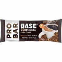 Probar Base Coffee Crunch Protein Bar, 2.46 oz., (Pack of 12)