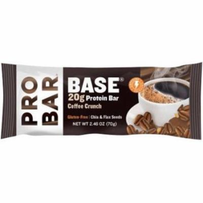 Probar Base Coffee Crunch Protein Bar, 2.46 oz., (Pack of 12)