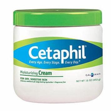 2 Pack - Cetaphil Moisturizing Cream, Fragrance Free - 16 Oz Each