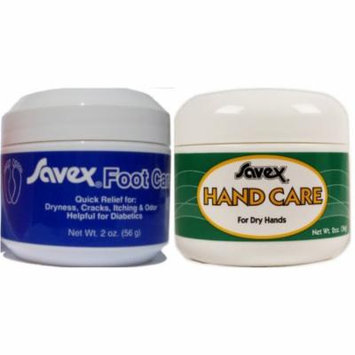 2 Pack Kit of Hand Care and Foot Care Cream and Lotion