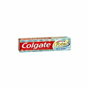 5 Pack - Colgate Total Fresh Mint Stripe Gel Toothpaste, 7.8oz Each