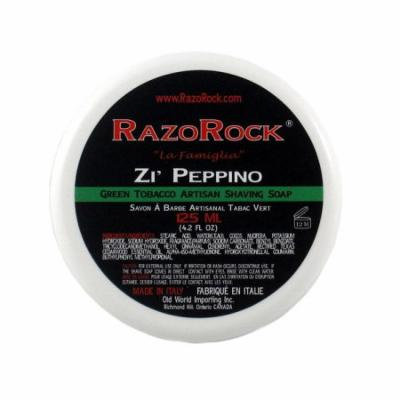 RazoRock Zi' Peppino Shaving Soap, 125ml