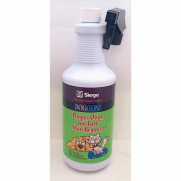 Siege Doggone, Pet Stain Remover, 32 oz, Earth Friendly, Made in USA, 844