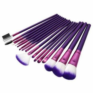 Evelots Makeup Brushes Set,16PCS Eyeshadow Lip Brush Set Multifunctional Premium