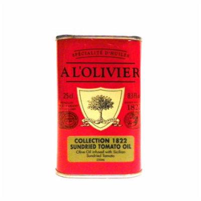 A L'Olivier Sun-Dried Tomato Olive Oil Tin, 8.3 oz