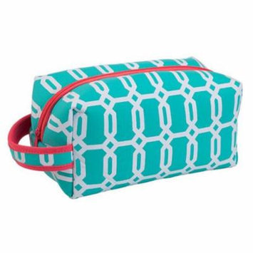Occasionally Made Travel Cosmetic Case, Turquoise