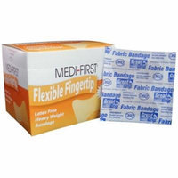 Medi-First, Small Fingertip, Fabric Bandages 160 Bandages MS-28552
