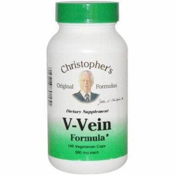 Christopher's Original Formulas Original Formulas V-Vein Vegetarian Capsules, 100 CT