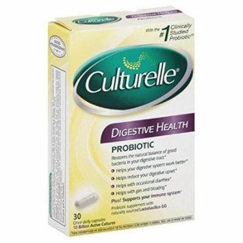 6 Pack - Culturelle Probiotic Digestive Health 30 Capsules Each