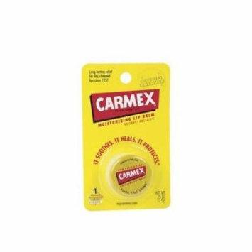 4 Pack - Carmex Moisturizing Lip Balm, Original 0.25oz Each
