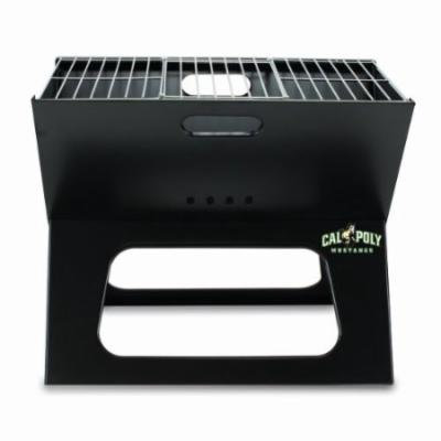 NCAA Cal Poly Mustangs Portable Charcoal X-Grill