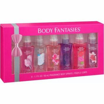 Body Fantasies Fragrance Body Sprays Gift Set, 1.7 fl oz, 6 pc