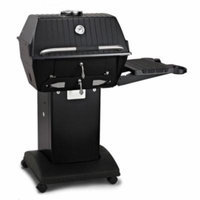 Charcoal Grill Package 1 with Black Cart/Base