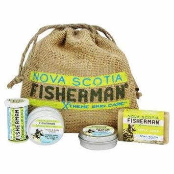 Nova Scotia Fisherman - Stem to Stern Pack with Mini Soap, Lip Balm, Hand & Body Cream, & Rescue Balm - 4 Piece(s)