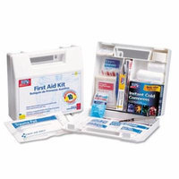 First Aid Only, Inc. 222U First Aid Kit for 10 People, 62-Pieces, OSHA Compliant, Plastic Case