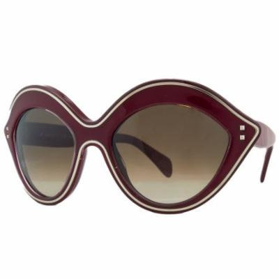 Valentino V689/S 613 Red Oval Sunglasses