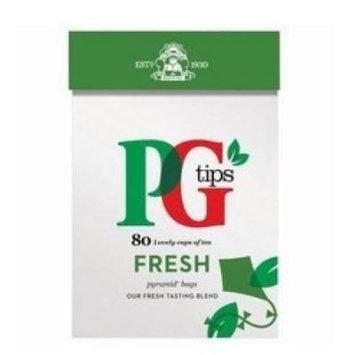 PG Tips Fresh Pyramid Tea Bags (80) - Pack of 6