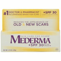 6 Pack - MEDERMA + SPF 30 Skin Care for Scars, Scar CREAM 0.70oz Each
