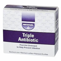 Water Jel Triple Antibiotic Ointment 0.9g Packet 5 Boxes ( 125 packets ) MS-60786