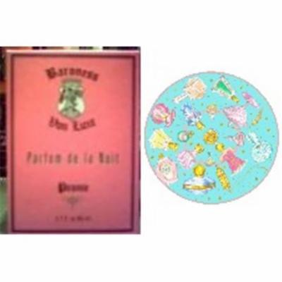 Baroness von Luxe PEONY1 Peony Fragrance & Perfume Bottles Shower Cap