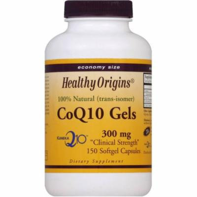 Healthy Origins CoQ10, 300 mg, SoftGel Capsules, Economy Size, 150 CT
