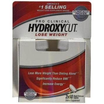 Hydroxycut Advanced-Weight Loss Supplement, 60 Caplets, Increase and Lose More Weight (2 Pack)