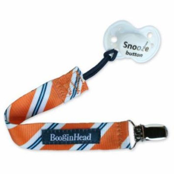 BooginHead PaciGrip, Orange Tie (Discontinued by Manufacturer)