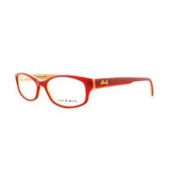 LUCKY BRAND Eyeglasses POET Red 53MM