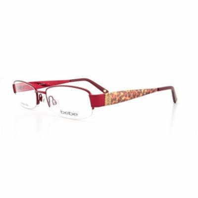 BEBE Eyeglasses BB5028 002 Burgundy 49MM