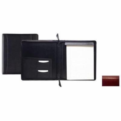 Raika RM 143 RED Standard Zipper Writing Pad - Red