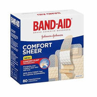 2 Pack - BAND-AID Sheer Strips Assorted 80 Each