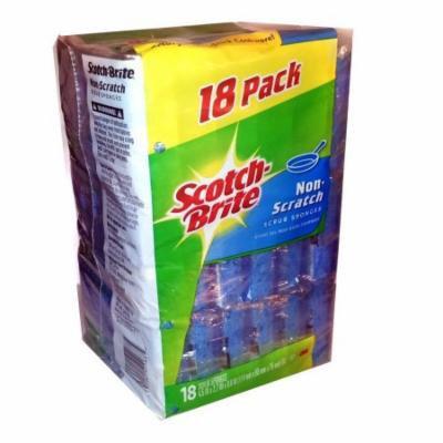 Scotch-Brite Non-Scratch Scrub Sponges - 18 Pack