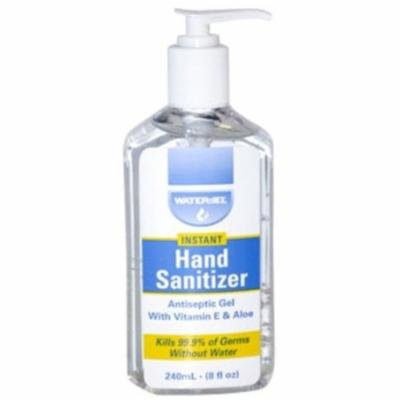 Waterjel Antiseptic Hand Sanitizer Gel 8 oz Pump Bottle 2 each MS-89334