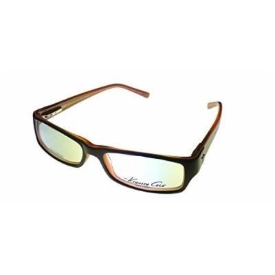 Kenneth Cole New York Mens Black Brown Rectangle Plastic Eyewear Frame KC116 5