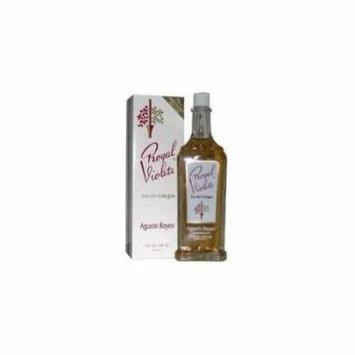 (Pack of 3) Royal Violets By Agustin Reyes 5 Oz Agua De Colonia Eau De Cologne Glass Bottle by Vetrarian