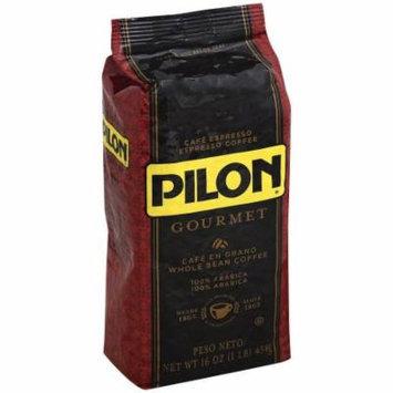 Pilon Gourmet Whole Bean Coffee, 16 oz, (Pack of 8)