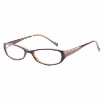 LUCKY BRAND Eyeglasses BEACH TRIP Purple 49MM
