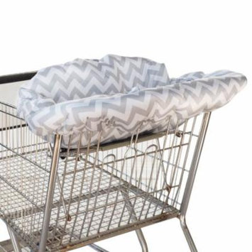 Ritzy Sitzy Shopping Cart & High Chair Cover - Grey Chevron
