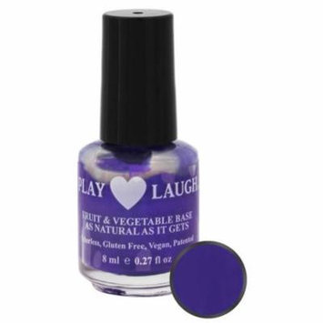 Hugo Naturals - Play Love Laugh Nail Polish Grapelicious - 0.27 oz.