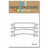 Paper Smooches Die-Banner