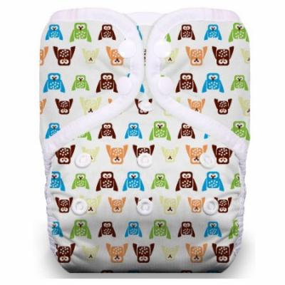 One Size Snap Pocket Diaper - Hoot