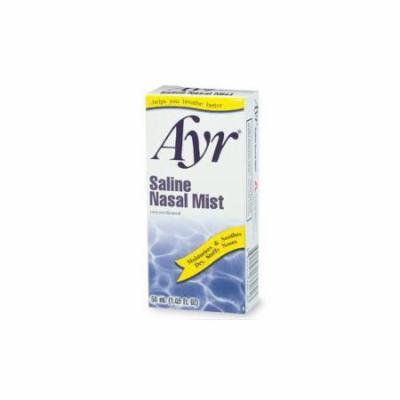 2 Pack - Ayr Saline Nasal Mist 50 mL Each